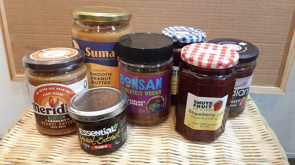 Jams, Honey & Nut Butters