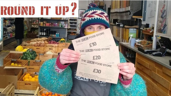 Round it up - donation to the Food Bank