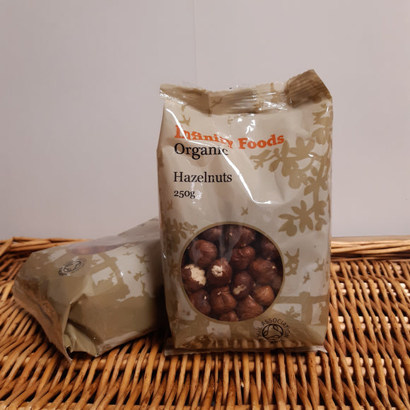 Hazelnuts- whole 250g