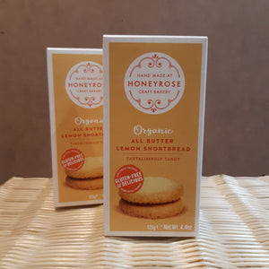 Honeyrose Butter Lemon Shortbread 125g