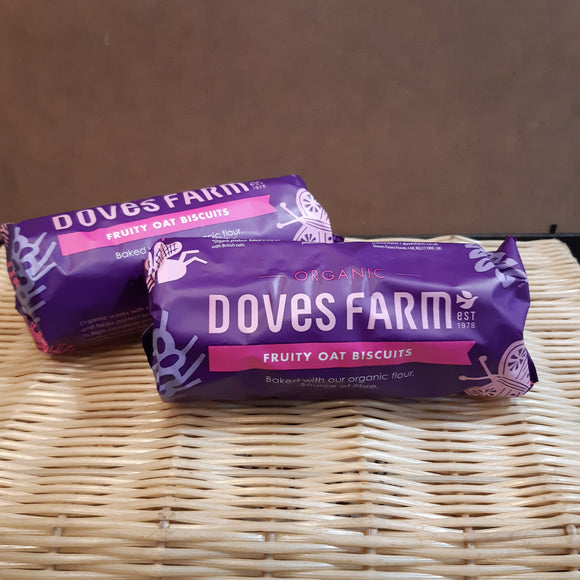 Doves Fruity Oat Biscuits 200g