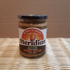 Meridian Peanut Butter Smooth (Org) 280g