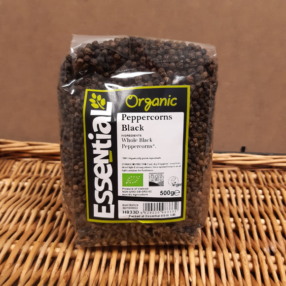 Black peppercorns 500g