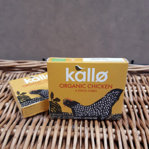 Kallo organic chicken stock cubes 66g