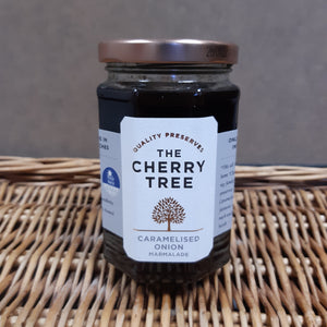 Cherry tree caramelised onion 340g