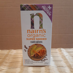 Nairns Super Seeded Oatcakes 200g