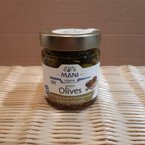 Fennel & Peppercorn Olives 185g