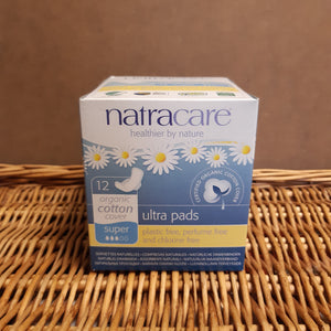 Natracare ultra super with wings 12x