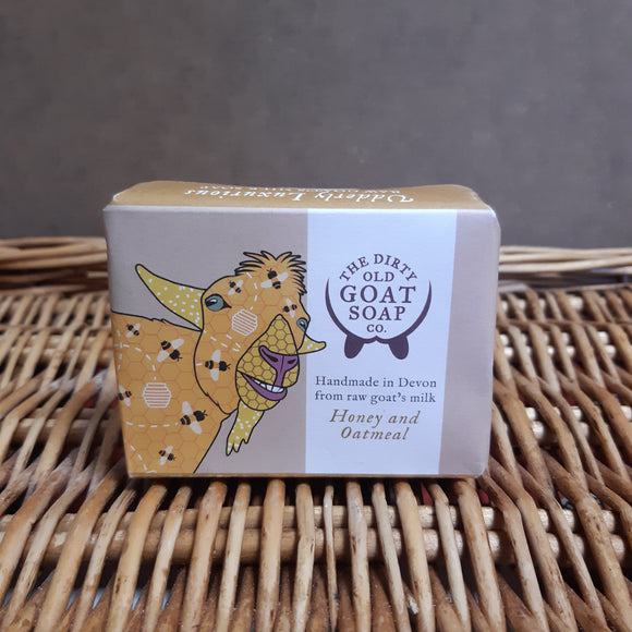 Dirty Old Goat Soap - Honey & Oatmeal