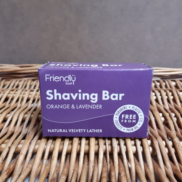Natural shaving soap 95g