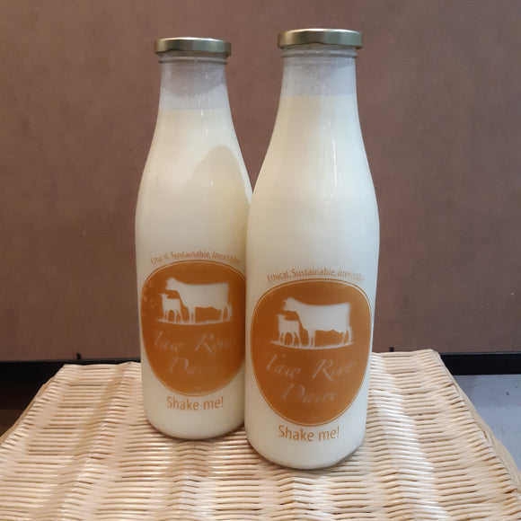 Taw River Dairy Whole Milk 1l