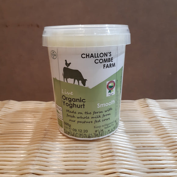 Challons C Natural Yoghurt Smooth 500g