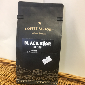 Black Bear Beans 200g - Coffee Factory
