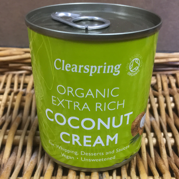 Clearspring organic coconut cream 200ml