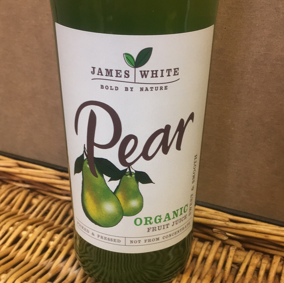 James White Pear Juice 750ml