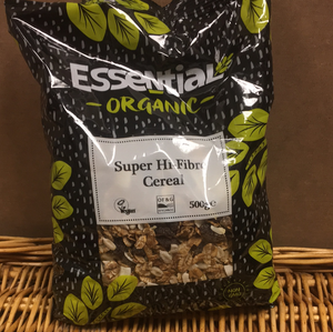 Essential Cereal Super Hi-Fibre 500g