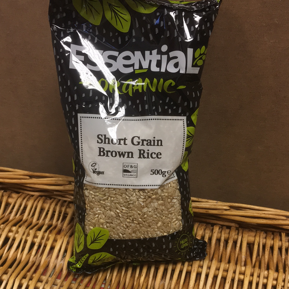Short grain brown rice 500g
