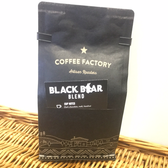 Black Bear Ground 200g - Coffee Factory