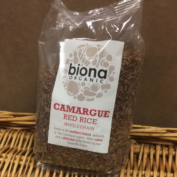 Carmargue red rice- org. 500g