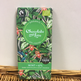 Chocolate & Love Mint 67% 80g