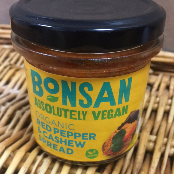 Bonsan Cashew & Pepper Pate 130g