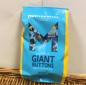 Montezuma giant milk choco buttons 180g