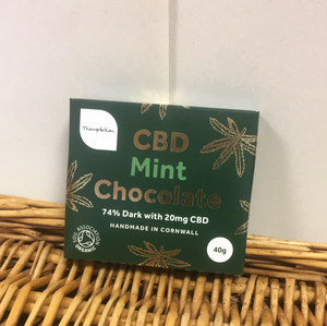 Themptation CBD Chocolate Mint 40g