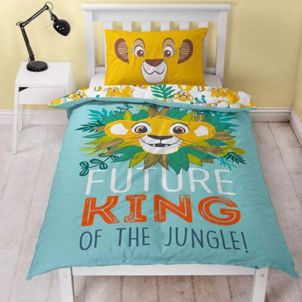Lion King Future King Reversible Single Duvet Set