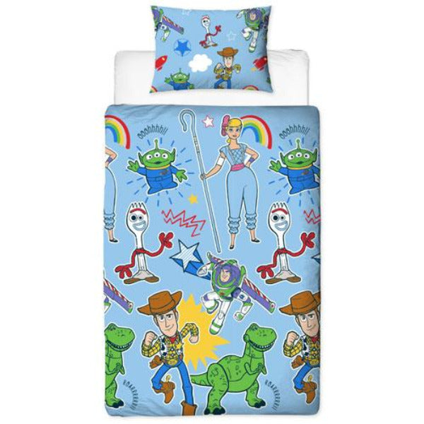 Official Toy Story Road Rotary Duvet Set
