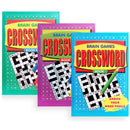 Crossword Puzzle Book A5