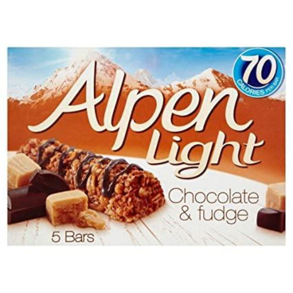 Alpen Light Chocolate & Fudge 5 Pack 95gm