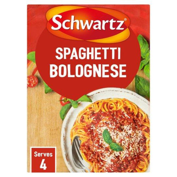 Schwartz Authenic Spaghetti Bolognese Mix 40gm