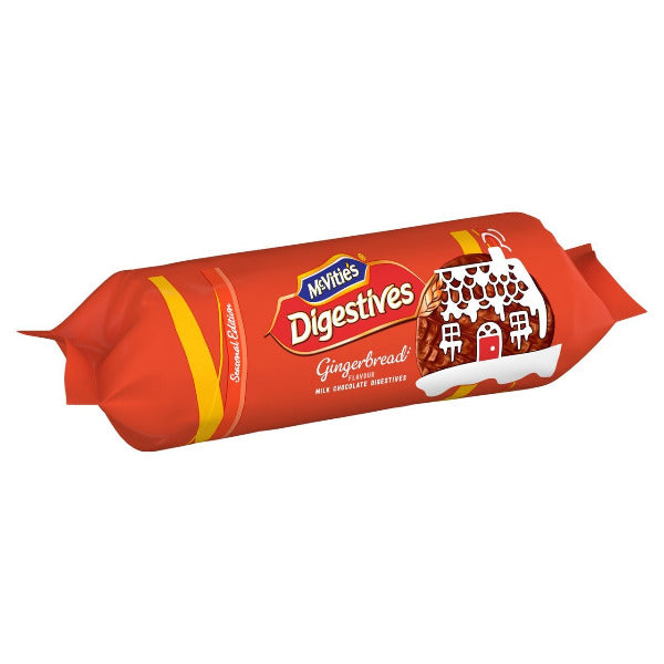 Mcvities Gingerbread Chocolate Digestive Biscuits 250gm
