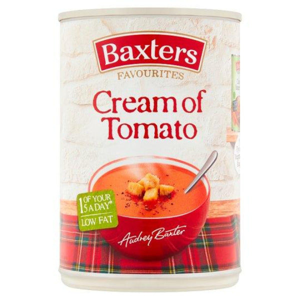 Baxters Cream of Tomato Soup 400gm