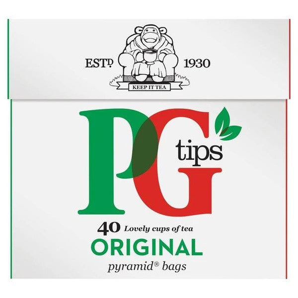 Pg Tips Original Teabags 40's PM135