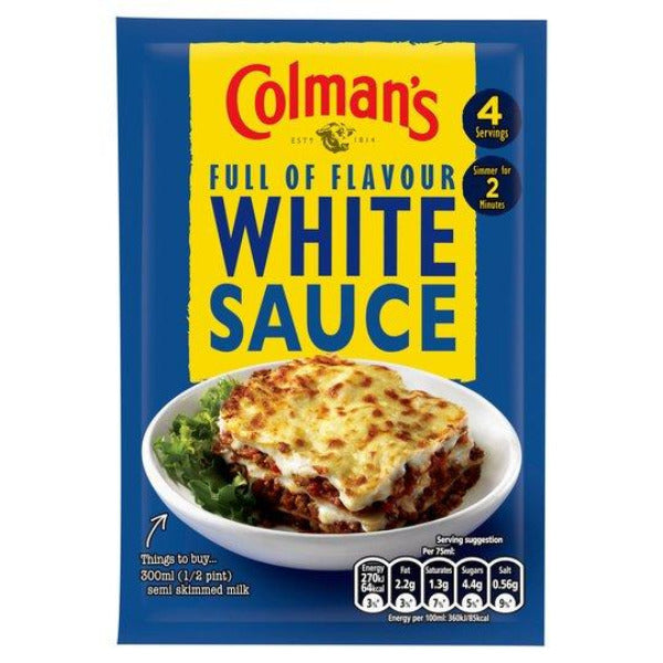 Colmans White Sauce Mix 35gm