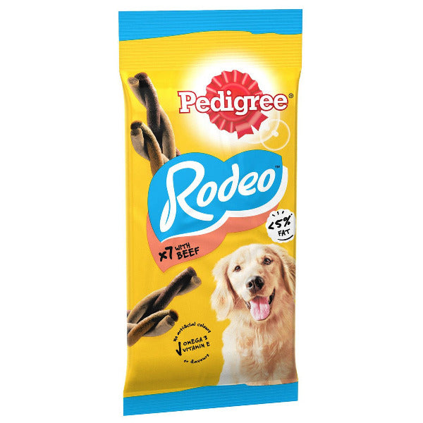 Pedigree Rodeo Beef x 4 70gm