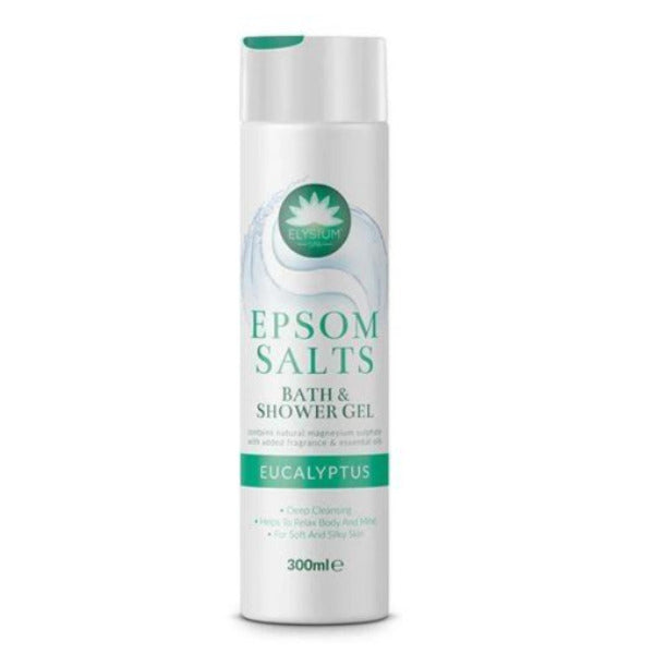 Elysium Spa Epson Salts Shower Gel Eucalyptus 300ml