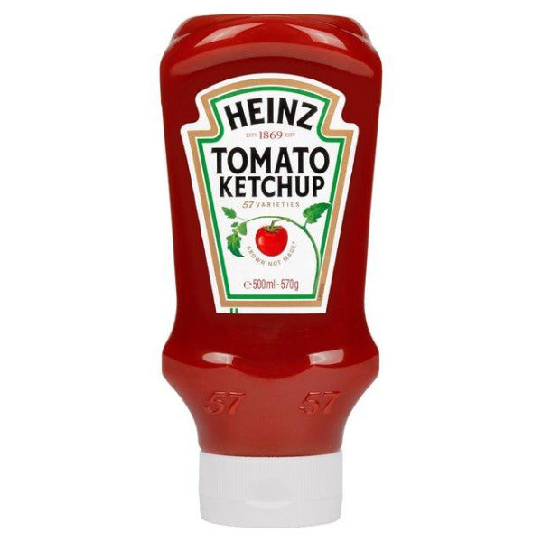 Heinz Tomato Ketchup Squeezy 570gm
