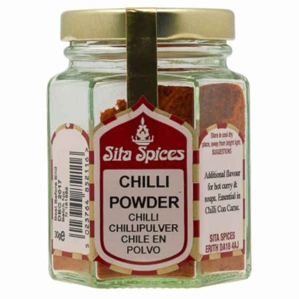 Sita Chilli Powder In Glass Jar 30gm