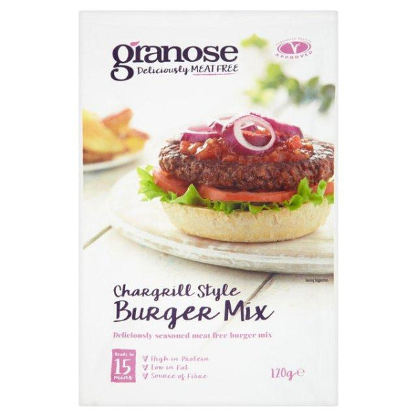 Granose Meat Free Chargrilled Burger Mix 120gm