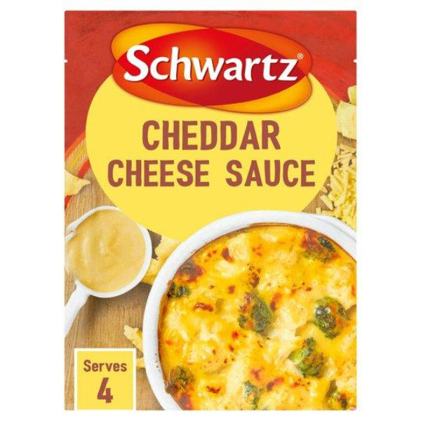 Schwartz Cheddar Cheese Sauce Mix 40gm