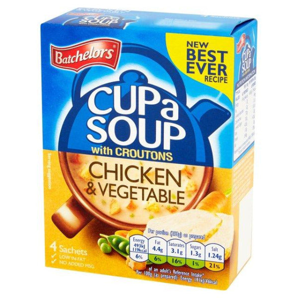 Batchelors Cup a Soup Chicken & Leek 4 Pack