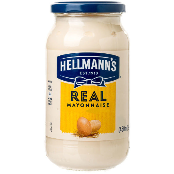 Hellmanns Mayonaisse 450gm