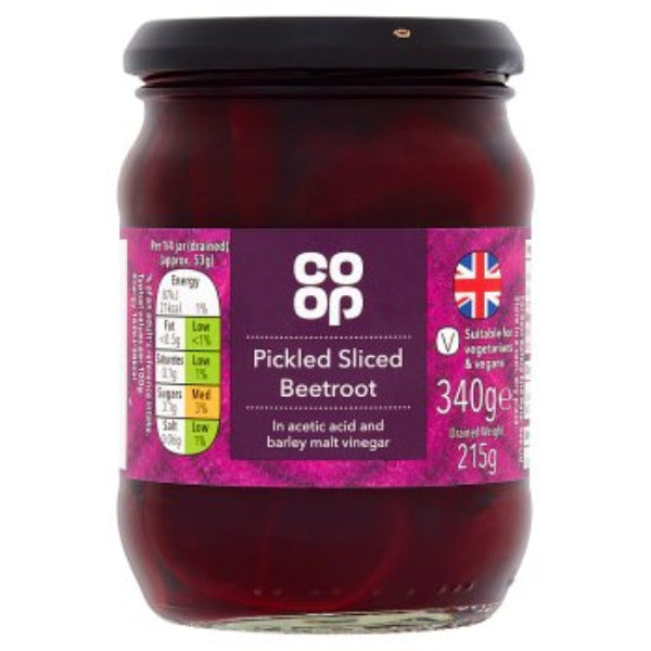 Coop Pickled Sliced Beetroot 340gm