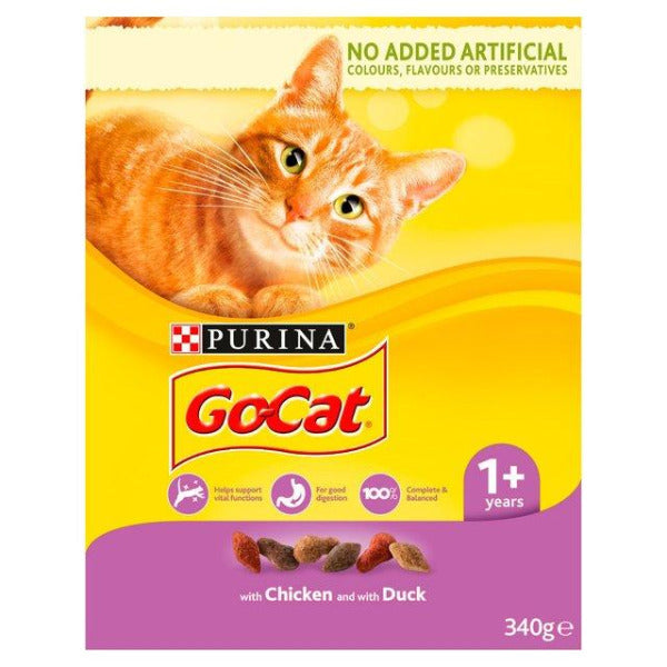 Go Cat Chicken & Duck 340gm