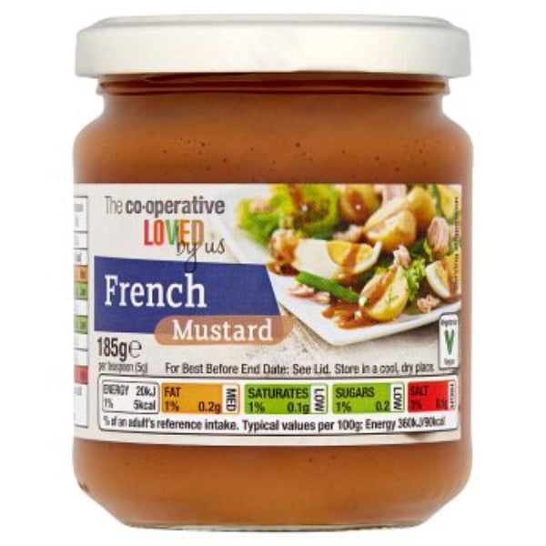 Coop Loved By Us French Mustard 185gm