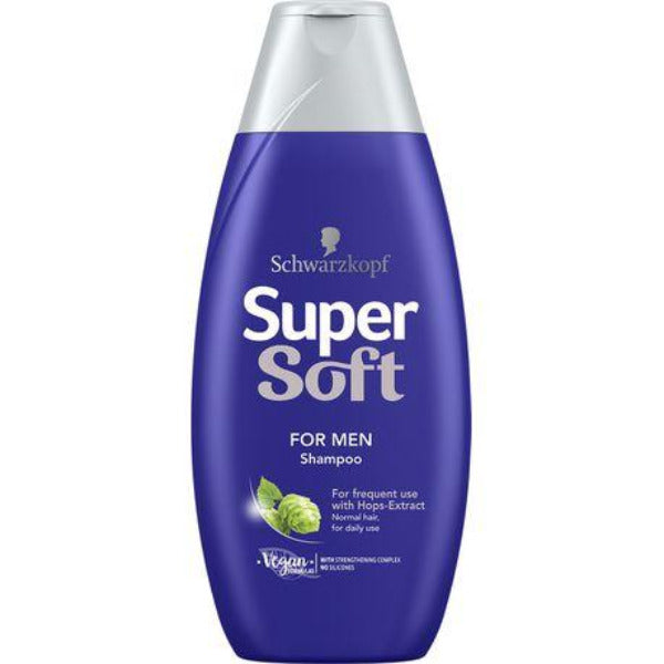 Supersoft Shampoo For Men 400ml