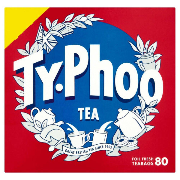 Typhoo Foil Wrapped Teabags 80's