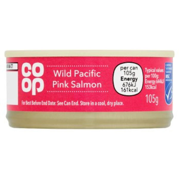 Coop Wild Pacific Pink Salmon 105gm